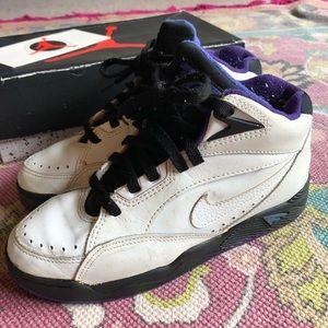 Vintage Nike Air Flight High Top Sneakers 1992